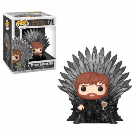 Figura POP Tyrion Sentado en el Trono