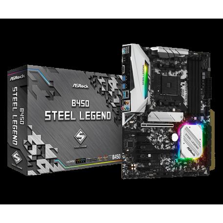 Asrock B450 Steel Legend