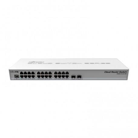 MikroTik CRS326-24G-2S+RM Switch 24 Puertos 2xSFP+ L5