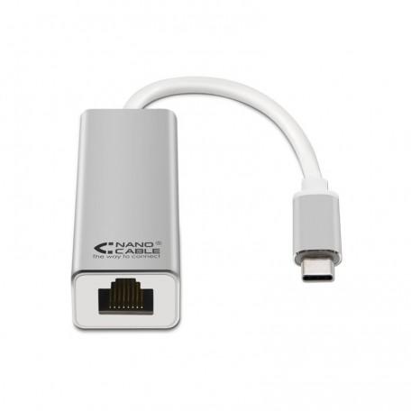 Nanocable Adaptador USB-C 3.0 a Ethernet