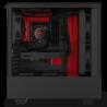 NZXT H510 Negro Mate/Rojo