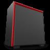 NZXT H710 Negro Mate/Rojo
