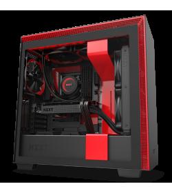 NZXT H710i Negro Mate/Rojo
