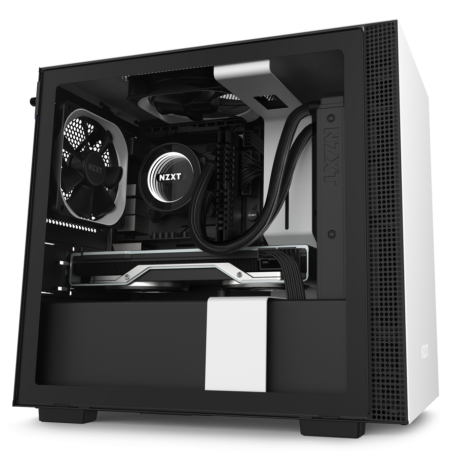 NZXT H210 Blanco Mate