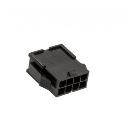 BHCustoms Conector EPS 8 pin Negro - Macho