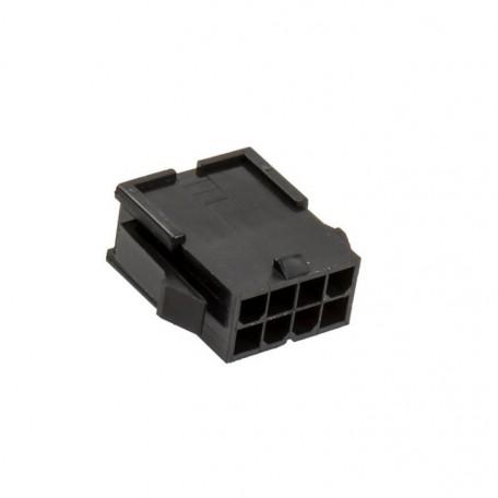Conector EPS 8 pins negro BH Customs - macho