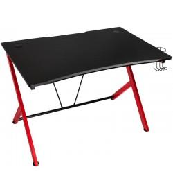 Nitro Concepts D12 Gaming Desk Negra/Roja