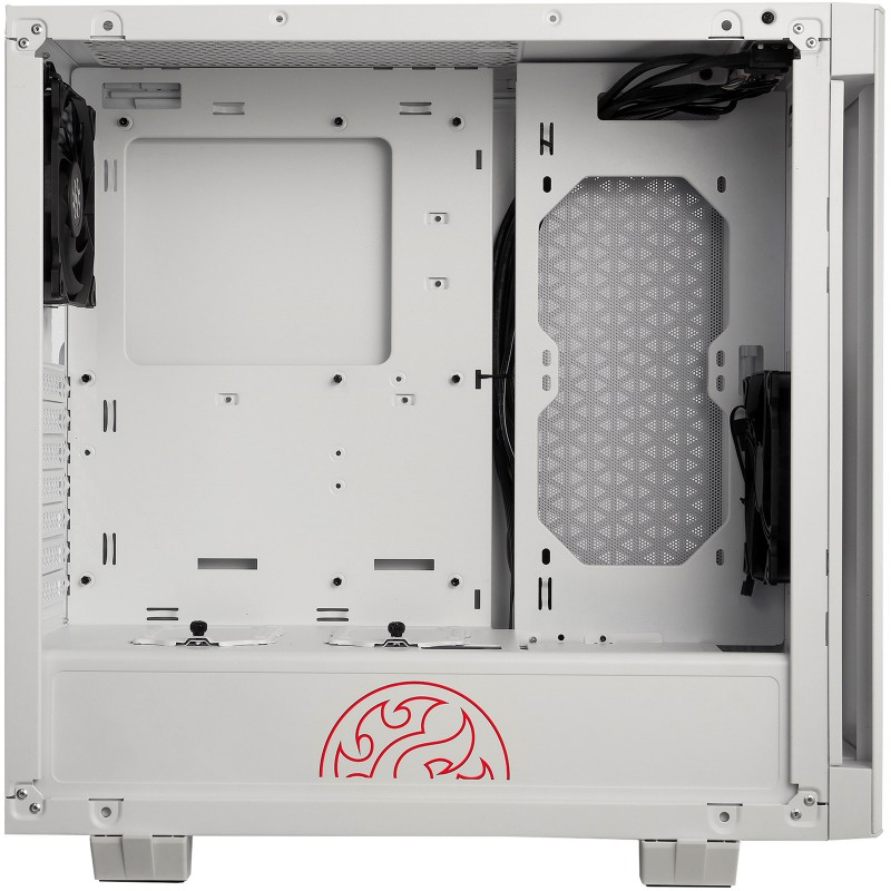 Caja Atx Gamer Adata Xpg Con 2 Ventiladores 2 Blanco