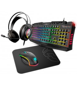 Krom Kritic RGB Rainbow Gaming Kit