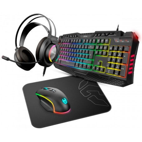 Nox Krom Kritic RGB Rainbow Gaming Kit