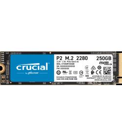 Crucial P2 250GB SSD M.2 NVMe PCIe