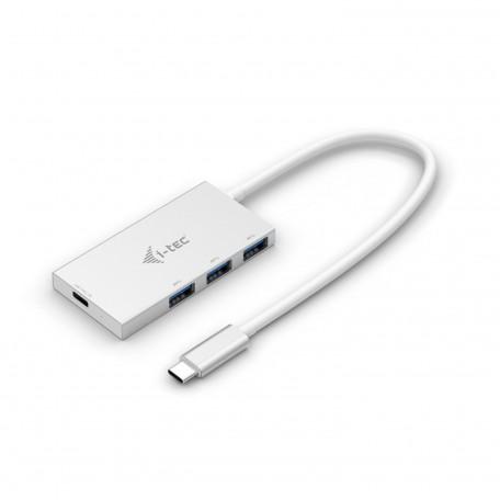Sharkoon Hub USB-C a USB- A 3.0 4 Puertos Aluminium