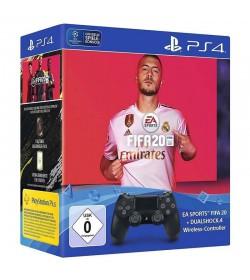 Sony PS4 Dualshock V.2 Wireless + EA Sports FIFA 20
