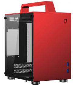Cooltek Jonsbo T8 Cristal Roja ITX
