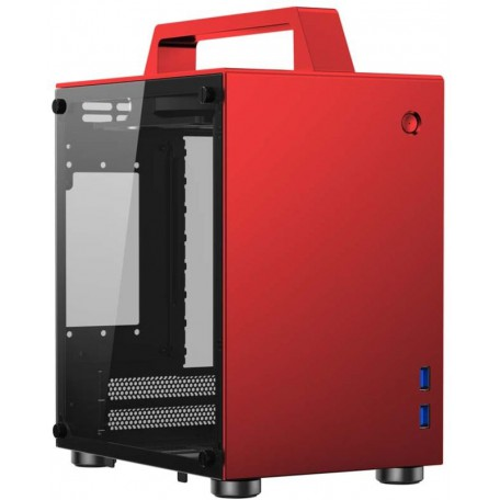 Cooltek Jonsbo T8 Cristal Plata ITX
