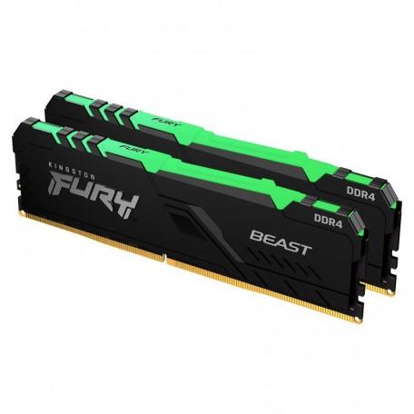 Kingston Fury Beast RGB DDR4 3200 2x8 16GB CL16