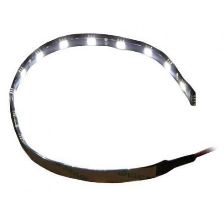 SilverStone LS01W. Cinta 15 Leds Blanca 30cm