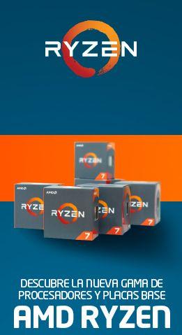 Procesadores y placas AMD Ryzen